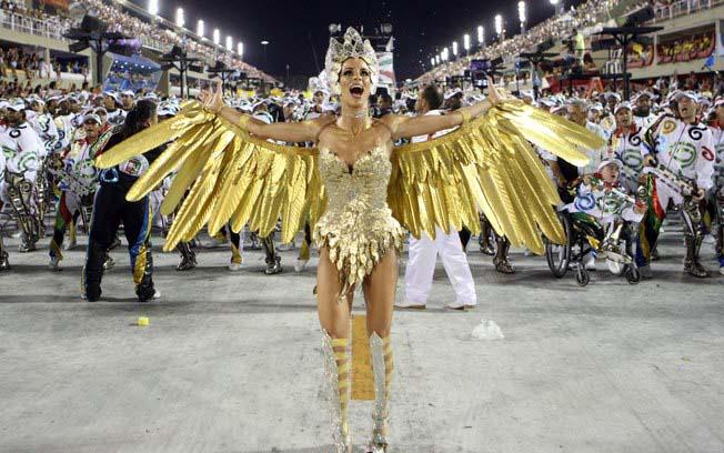Carnival parade Rio de Janeiro
