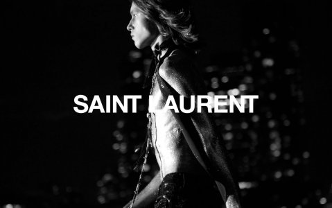YSL fashion week